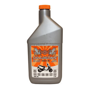 Draggons 2-Stroke Scoot 2SS Semi-Synthetic Scooter Oil - 1400-1077