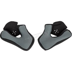 Black Cheek Pads for AT21/S and AT21Y Helmets - 30mm - 72-3172
