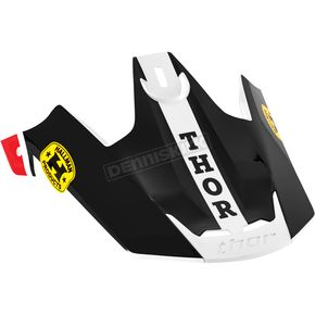Thor Red/Black Replacement Visor Kit for Verge Pro GP Helmet  - 0132-0841