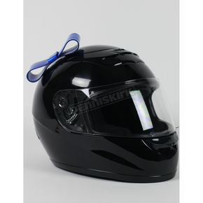 Helmets Inc Blue Helmet Bow - BOWBLUE