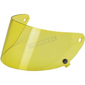 Biltwell Yellow Gringo S Flat Shield - SF-YEL-GS-SD