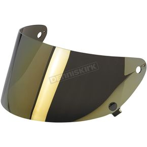Biltwell Lite Mirror Gringo S Flat Shield - SF-MIR-GS-SD