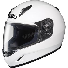 HJC Youth CL-Y White Helmet - 55-1522