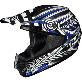 HJC Black/Blue/White Charge CS-MX Helmet - 310-926
