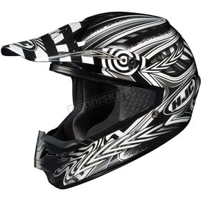 HJC Black/Silver/White Charge CS-MX Helmet - 310-956