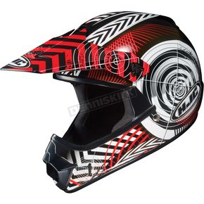 HJC Youth Red/Black/White Wanted CL-XY Helmet - 274-914