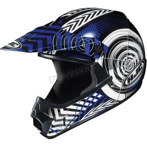 HJC Youth Blue/Black/White Wanted CL-XY Helmet - 274-924