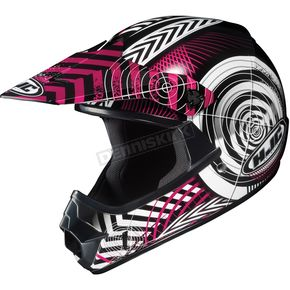 HJC Youth Pink/Black/White Wanted CL-XY Helmet - 274-984