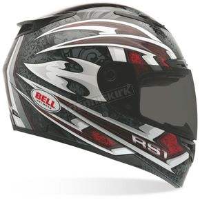 Bell Red RS-1 Cataclysm Helmet - Convertible To Snow - RS-1