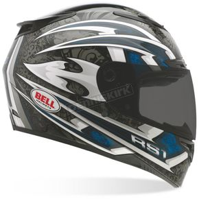Bell Blue RS-1 Cataclysm Helmet - Convertible To Snow - 2028486