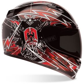 Bell Helmets Red Vortex Siege Helmet - Convertible To Snow - VORTEX