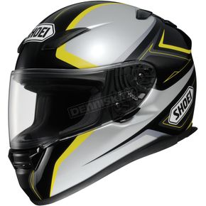 Shoei Helmets RF-1100 Chroma Black/Silver/Yellow Helmet - 0113-0303-05