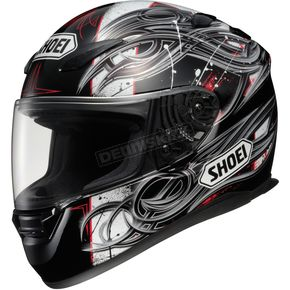 Shoei Helmets RF-1100 Hadron 2 Black/Silver/Red  Helmet - 0113-2605-06