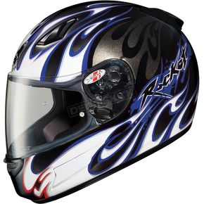Joe Rocket RKT-Prime Rampage Blue Helmet - 123-926