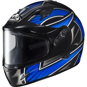 HJC Black/Silver/Blue IS-16 Ramper Helmet  - 573-926