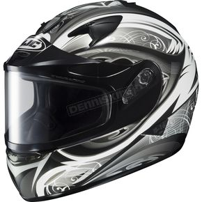 HJC White/Black/Silver IS-16 Lash Helmet  - 575-956
