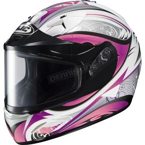 HJC White/Black/Pink IS-16 Lash Helmet  - 575-986
