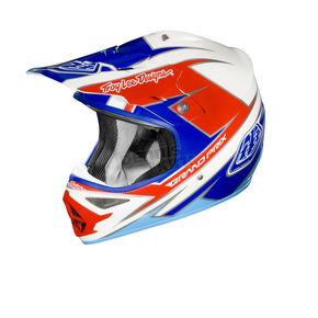 Troy Lee Designs Blue/White Stinger Air Helmet - 0102-0312