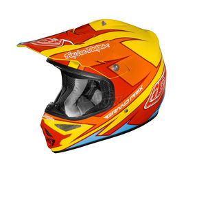 Troy Lee Designs Yellow/Red Stinger Air Helmet - 0102-0511