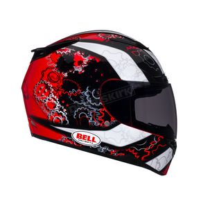 Bell Black/Red/White RS-1 Gear Head Helmet - Convertible To Snow - RS-1