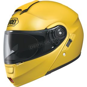 Shoei Helmets Neotec&reg Modular Brilliant Yellow Helmet - 0117-0123-05