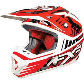 FXR Racing Red Strike Octane Helmet - 13400