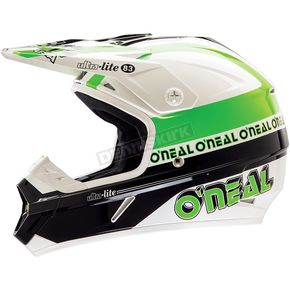 O'Neal Green/Black 7 Series Ultra-Lite Helmet - 0574