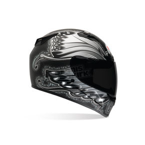Bell Black/Silver Vortex Monarch Tonal Helmet - 2036624