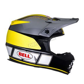 Bell Gray/Yellow/Black MX-2 Daytona Helmet - MX-2