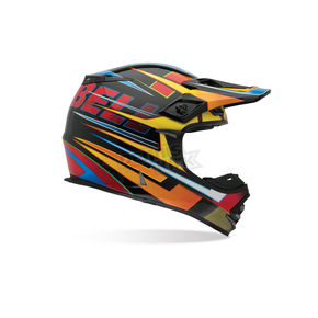 Bell Helmets Black Multi MX-2 Breaker Helmet - MX-2
