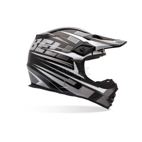 Bell Silver/Black MX-2 Breaker Helmet - MX-2