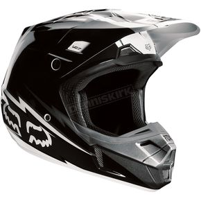 Fox Black/White V2 Giant Helmet - 02820-001-L