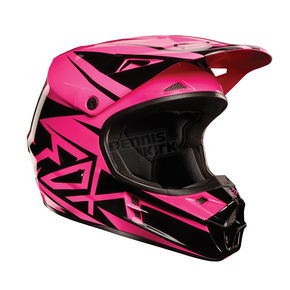 Fox Black/Pink V1 Costa Helmet - 02823