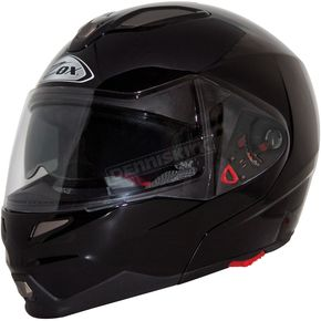 Zox Gloss Black Evolution SVS Helmet - 85-55242