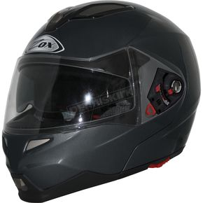 Zox Matte Black Evolution SVS Helmet - 85-55283