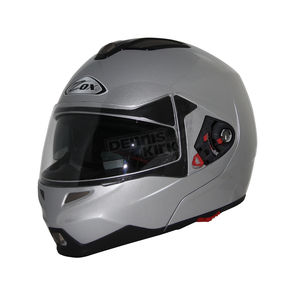 Zox Gloss Silver Evolution SVS Helmet - 85-55262
