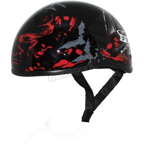 Zox Immortal Gloss Nano Old School Half Helmet - 88-00412