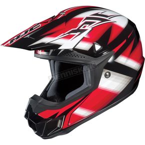 HJC Black/Red/White Spectrum CL-X6 MC-1 Helmet - 734-916
