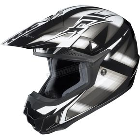 HJC Black/Silver/White Spectrum CL-X6 MC-5 Helmet - 734-956