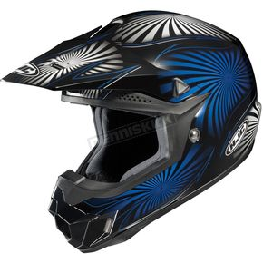 HJC Black/Blue/White Whirl CL-X6 MC-2  Helmet - 736-926