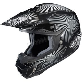 HJC Black/Gray/White Whirl CL-X6 MC-5 Helmet - 736-956