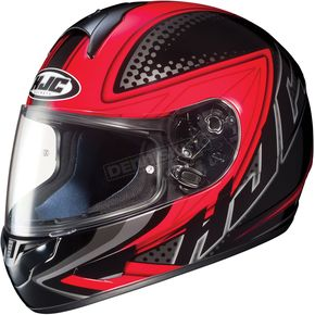 HJC Black/Red/Black Voltage CL-16 Helmet - 918-916