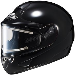 HJC Black CL-16SN Helmet w/Electric Shield - 005-606