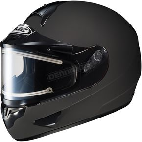 HJC Matte Black CL-16SN Helmet w/Electric Shield - 005-616