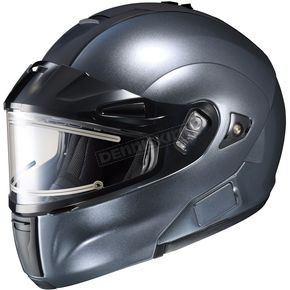 HJC Anthracite IS-MAX BTSN Helmet w/Electric Shield - 059-566