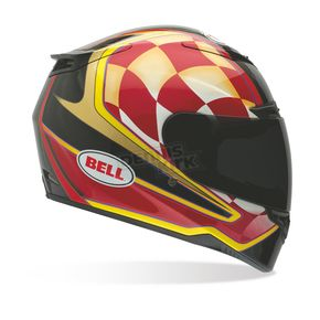 Bell Helmets Red/Bronze/Black Airtrix Speedway RS-1 Helmet - Convertible To Snow - 7000334