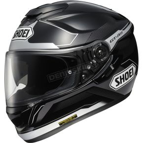 Shoei Helmets Black/Silver GT-Air Journey TC-5 Full Face Helmet - 0118-1005-06