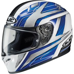 HJC White/Blue/Black Ace FG-17 Helmet - 628-926