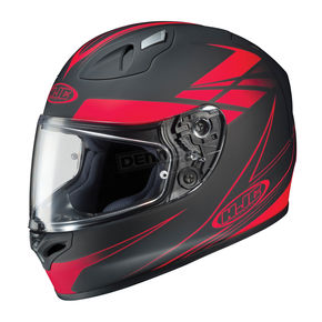 HJC Black/Red Force FG-17 Helmet - 632-816