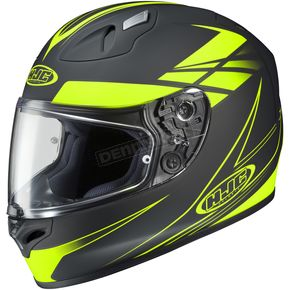 HJC Black/Hi-Vis Force FG-17 Helmet - 632-836